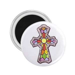 Tattoo Cross Art Fridge Souvenir Magnet 2.25 Free