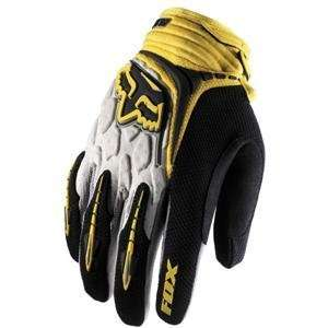 Fox Racing Youth Blitz Gloves   2007   Medium/Yellow