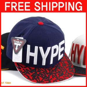 BIGBANG TAEYANG HAT HYPE LOGO BASEBALL BALL CAP UNIQUE STYLE HIPHOP