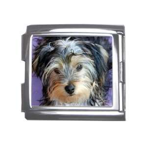 Yorkshire Terrier Puppy Dog 3 Megalink Italian Charm T0654