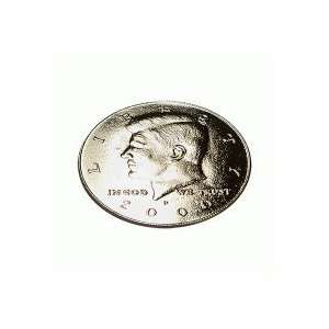 Kennedy Palming Coin (Half Dollar size) by You Want It We