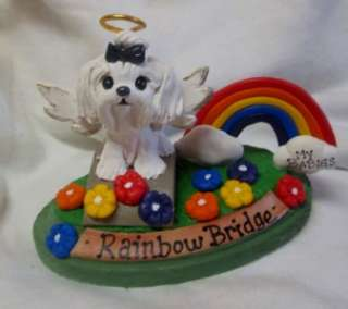 Clay Sculpture PICK YOUR BREED Rainbow Bridge Dog OOAK