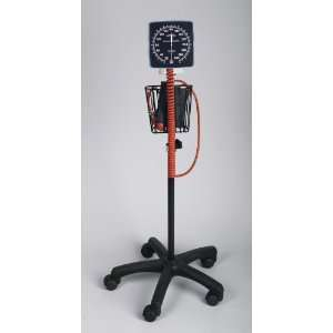 Mobile Aneroid Blood Pressure Monitor, HEIGHT ADJUSTABLE, LATEX FREE