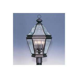 2636   Bradford Four Light Exterior Post Light