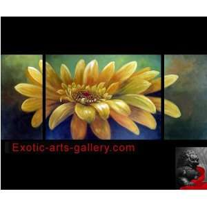 Abstract Art Sunflower Painting Feng Shui Oil Paintings 68 1