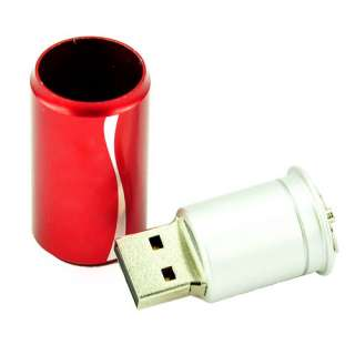 Coke Cans 4GB USB Memory Stick Flash Pen Drive 2 year warranty
