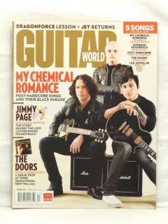 GUITAR WORLD MAGAZINE MY CHEMICAL ROMANCE THE DOORS 06