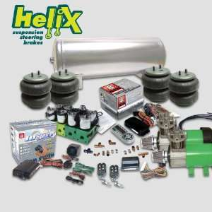 Helix Dual Compressor Air Bag Suspension System w/ Remote