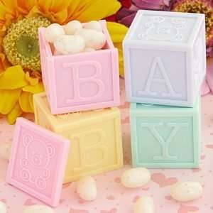 Baby Blocks Favor Containers (1 1/4in. H)   pack of 4