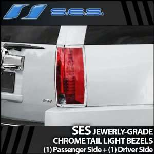 2007 2012 Cadillac SUV SES Chrome Tail Light Bezels