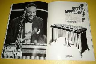 LIONEL HAMPTON JAPAN TOUR BOOK CONCERT PROGRAM 1982