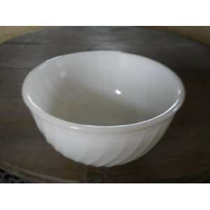Vintage Fire King Swirl Vegetable Bowl