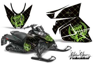 AMR RACING GRAPHIC DECAL WRAP KIT ARCTIC CAT PROCROSS SNOWMOBILE SLED