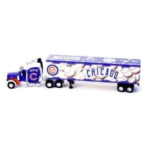 Chicago Cubs Mlb 2005 Semi Diecast Tractor Trailer Truck 1/80 By Fleer