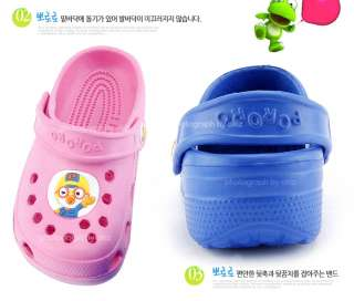 Korea Pororo children kids Sandals slippers Crocs Beach Shoes