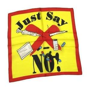 Just Say No to Drugs   36 Silk for Magic Tricks Toys & Games