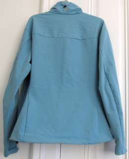 Mountain Hardwear Offwidth Stretch Jacket Womens XL Light Blue