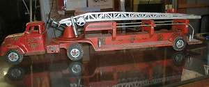 Vintage Tonka Steel Toy Fire Truck No. 5 Cab MFD Life Net