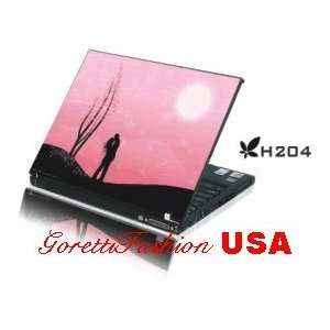 15.4 Laptop Notebook Skins Sticker Cover H204 Pink Sky