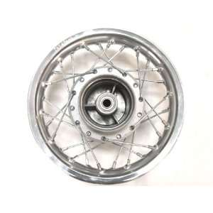 Silver Chrome Rear Rim Wheel Drum Honda XR50 CRF50 Fit Stock Pit Bike