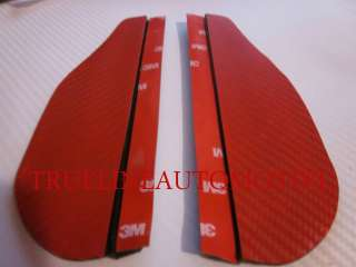 MAZDA Red Carbon Fiber Mirror Rain Guards Guard