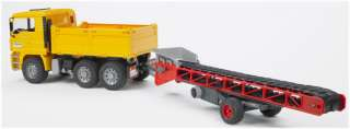 Bruder MAN TGA Construction truck w conveyor belt 02740