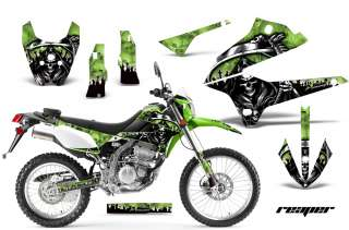 AMR RACING MOTORCROSS D TRACKER DIRT BIKE DECAL KAWASAKI KLX 250 08 12