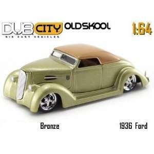 Jada Dub City Oldskool Bronze 1936 Ford 164 Scale Die