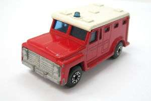 OLD LESNEY SUPERFAST MATCHBOX ARMORED TRUCK #69