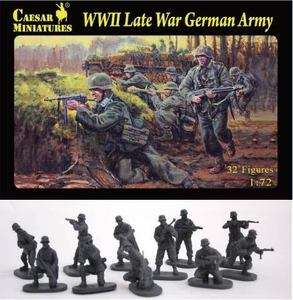Caesar Miniatures 1/72 074 WWII Late War German Army