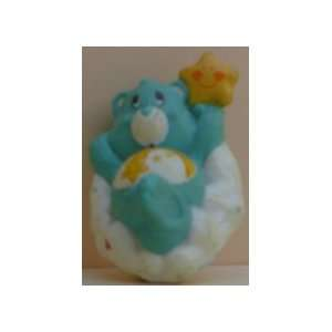 Care Bear PVC Approx. 1 1/2 To 2 Tall Green Floating In