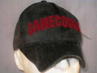 SOUTH CAROLINA GAMECOCKS   NEW FOOTBALL HAT   BLACK MCD