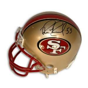 Bill Romanowski Autographed San Francisco 49ers Mini