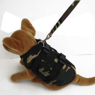 CAMO MULTI JACKET pet dog clothes APPAREL Chihuahua