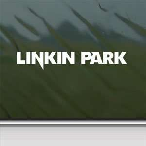 Linkin Park White Sticker LP Car Laptop Vinyl Window White
