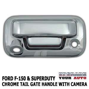 2007 2012 F 150 Chrome Tail Gate Cover with Camera Cutout