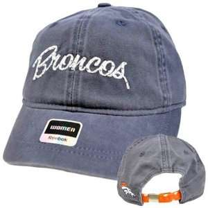NFL Denver Broncos Faded Blue Relaxed Fit Women Ladies