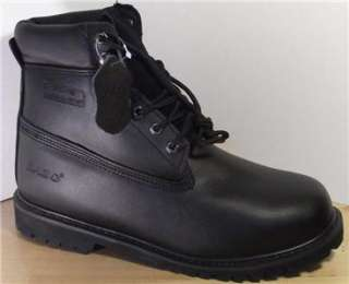 Mens Casual Work Boots Slip Resistant Shoes Black Size 8 13
