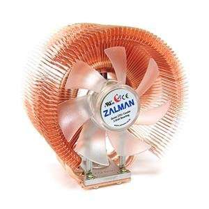 Zalman USA, copper heatpipe CPU cooling (Catalog Category