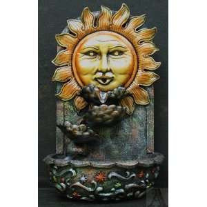 Celestial Astrology Wall Indoor Outdoor Water Fountain