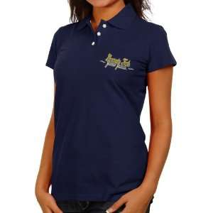 NCAA Georgia Tech Yellow Jackets Ladies Navy Blue Ivy League