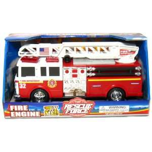 FIRE RESCUE FORCE FIRE ENGINE SOUNDS & LIGHT Toys & Games