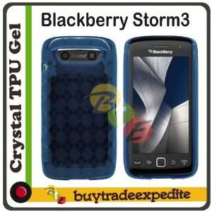 Monza 9860 TPU Rubber Case   Blue Checker Cell Phones & Accessories