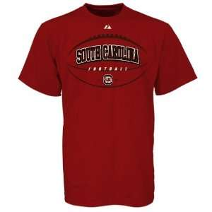 Majestic South Carolina Gamecocks Cardinal Be the Ball T