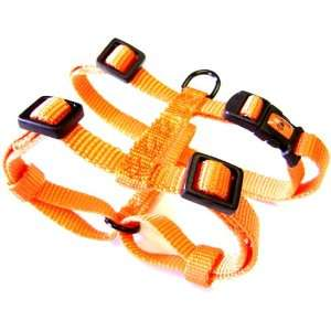 Hamilton Adjustable Comfort Nylon Dog Harness, Mango