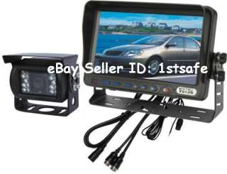 One 7 Wired DIGITAL TFT LCD Monitor + ONE Wired Waterproof IR CCD