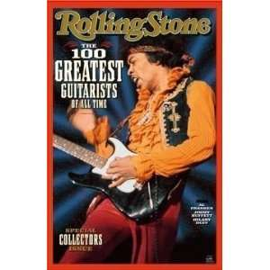 Stone Magazine 100 Greatest Guitarists of All T