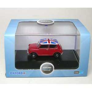 Tartan Red/Union Jack   1/76th Scale Oxford Diecast Toys & Games