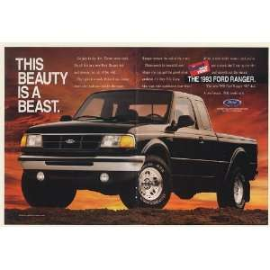 1993 Ford Ranger XLT 4x4 Pickup Truck This Beauty is a