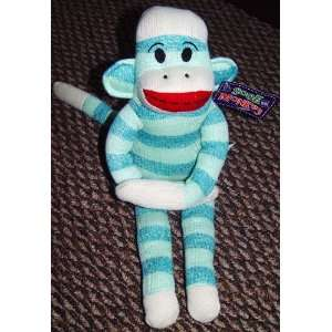 Blue Striped Sock Monkey Toys & Games